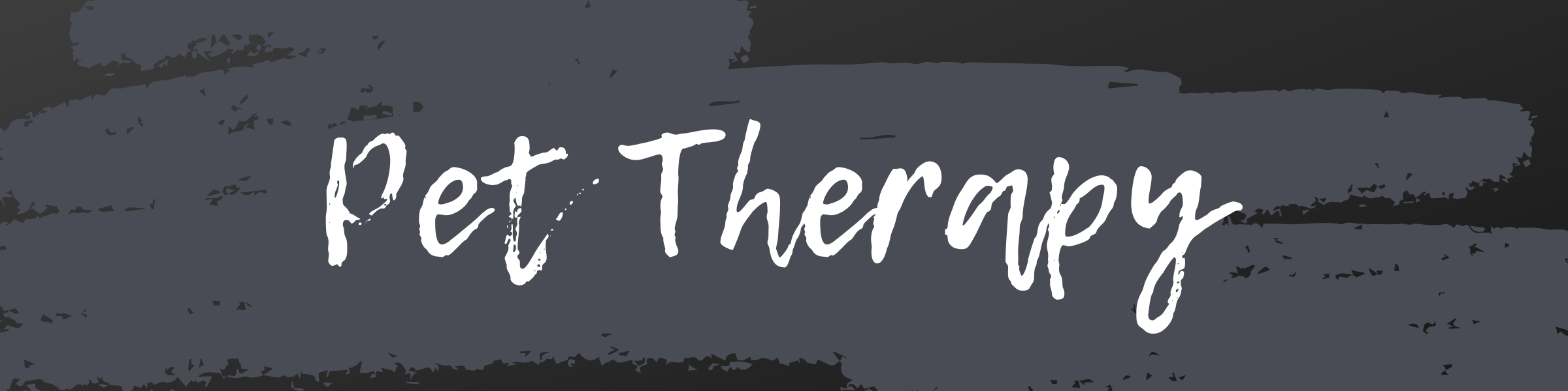 Pet Therapy Banner