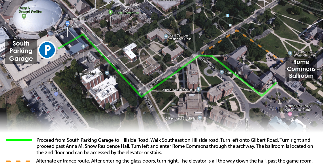 South Campus map