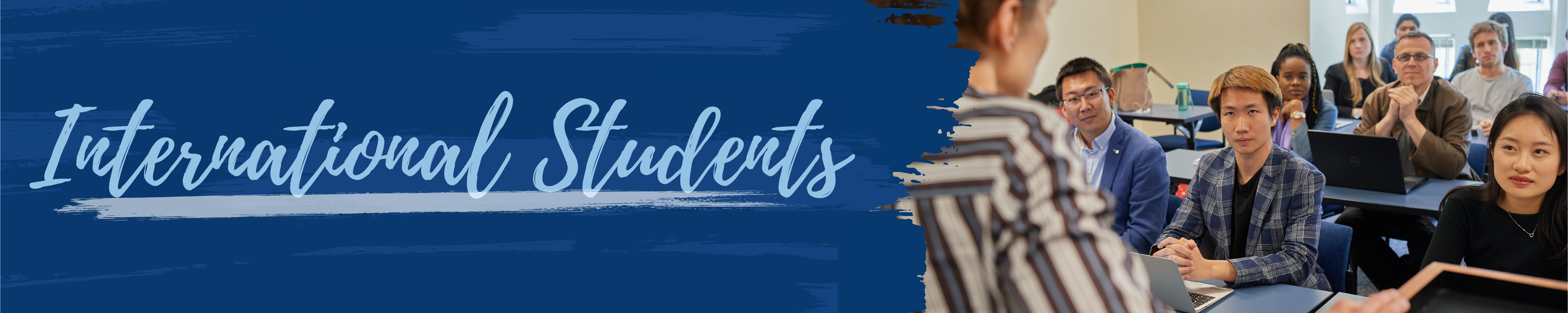 International Students Banner
