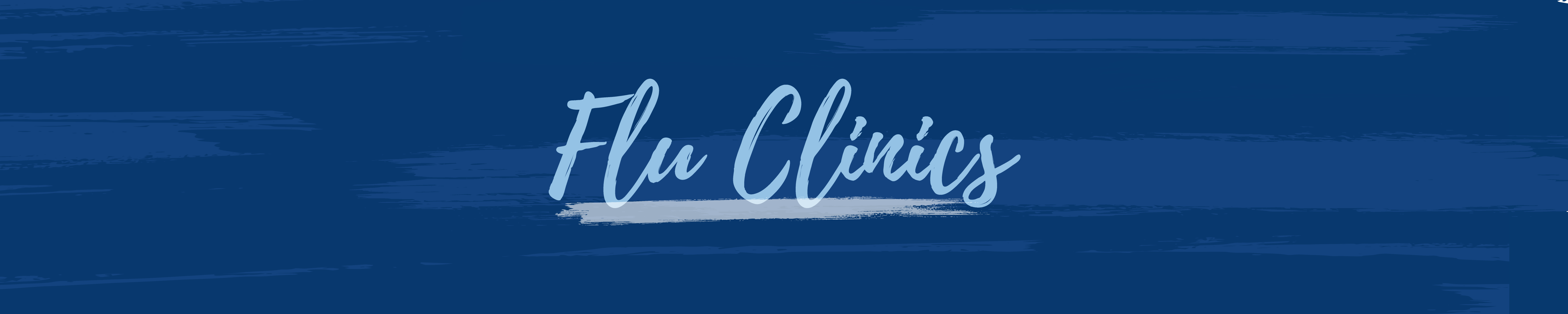 Flu Clinics Banner