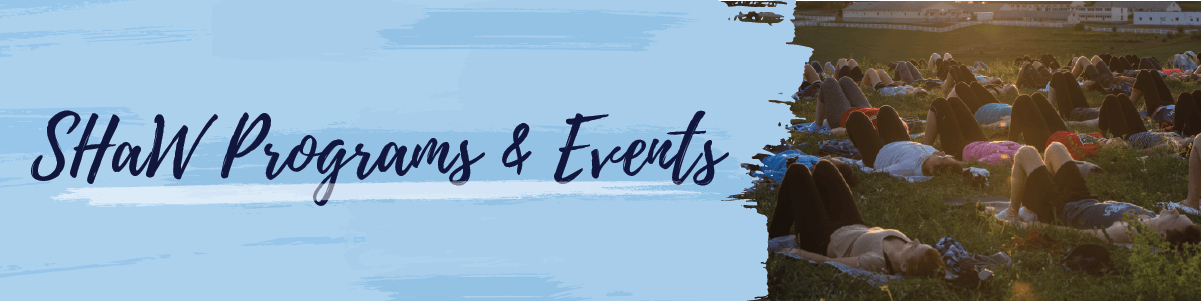 SHaW Events banner